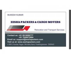 Movers and Packers in Visakhapatnam,Vizag | EESHA Packers &  Movers