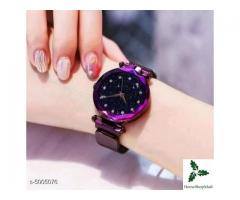 Checkout this hot & latest Watches Classy Women Watches Strap Material: Metal Display Type: Analogue