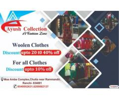 Ayush Collection Best Cloth Shop In Chutia Ranchi