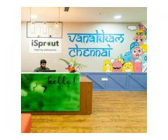 Coworking Space in Hyderabad, Vijayawada, Chennai - iSprout