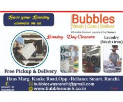 Bubbles Wash Care Deliver Clothes Dry Cleaners In Ranchi