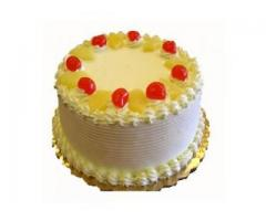 Order Online Pine Apple Cake to Vizag | Send Cakes to Visakhapatnam