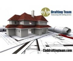 2D Floor Plan Drafting Services